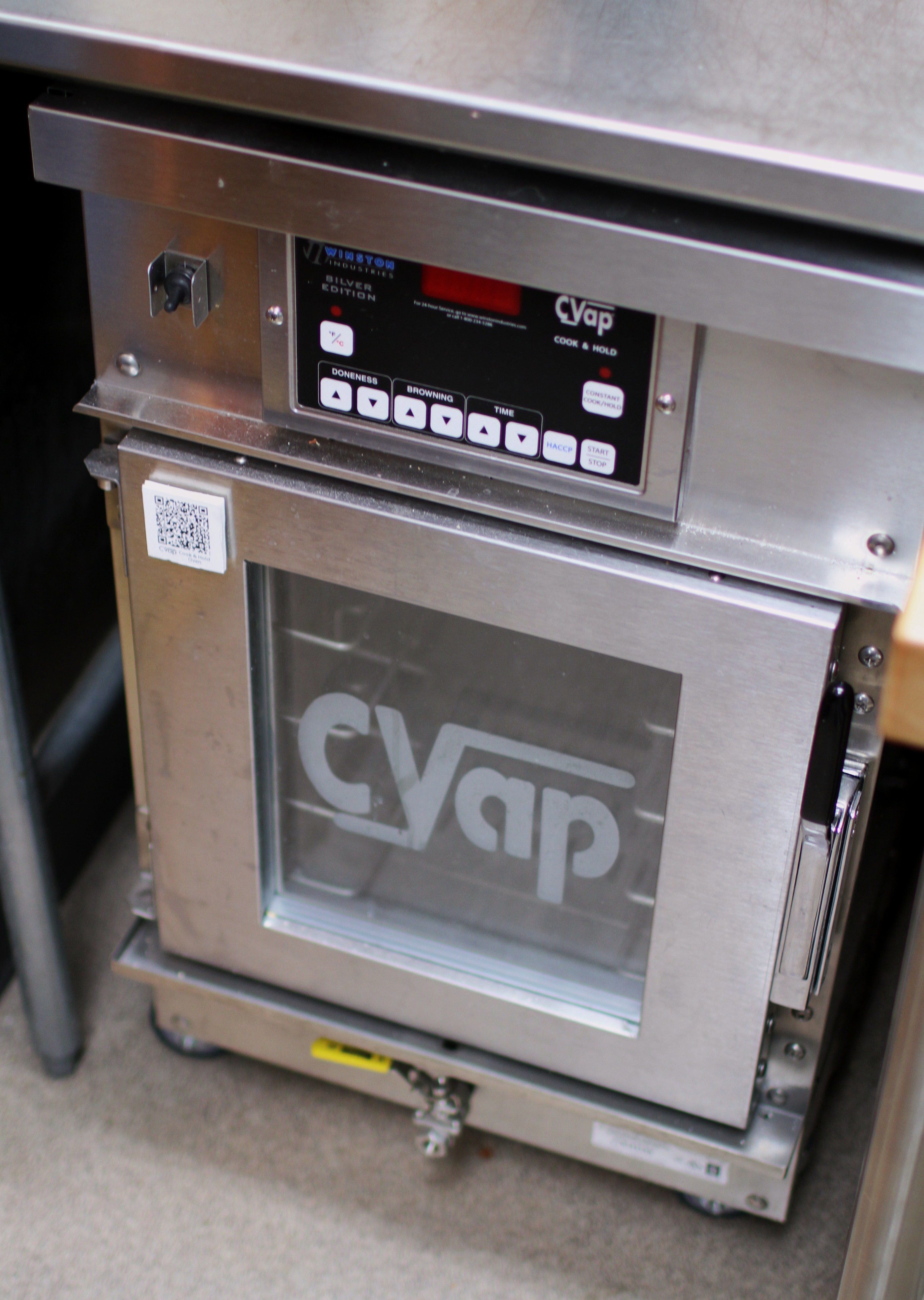 using my new cvap oven